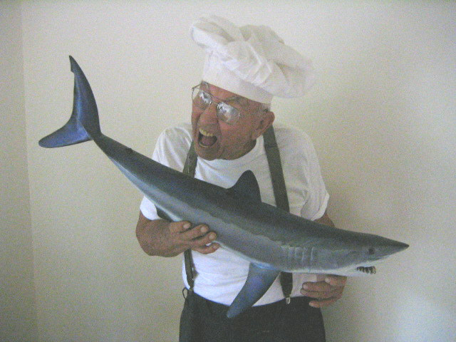 My Recipe For Cooking And Eating Blue Shark